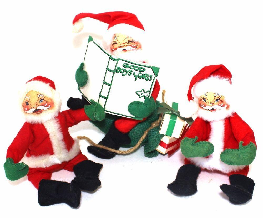 Annalee Doll Christmas Santa Claus 3 Annalee Christmas Santa Claus ...