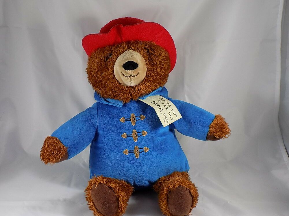 "Kohl/'s Cares for Kids PADDINGTON BEAR 14/"" Plush Stuffed Animal Toy NEW"