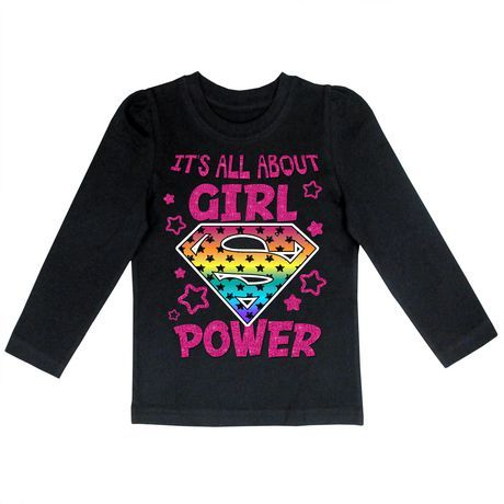 Supergirl Girls tshirt, Walmart Canada | Superman | Pinterest ...