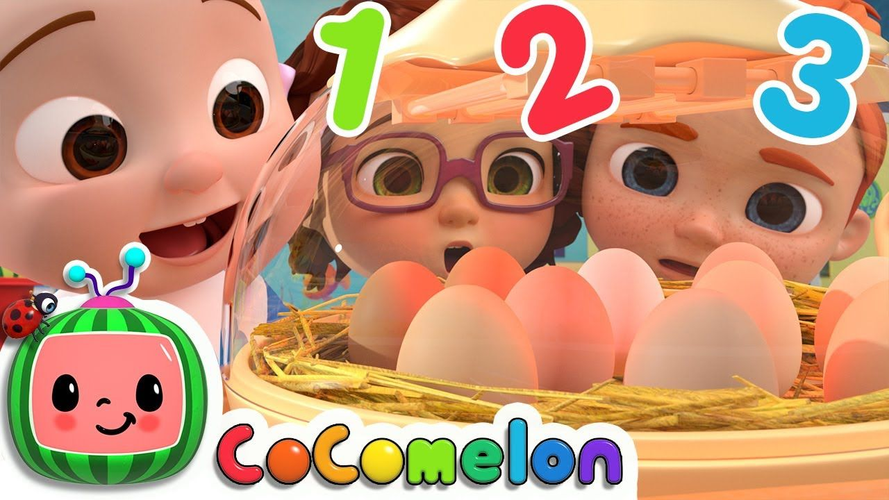 Numbers Song with Little Chicks Nursery Rhymes