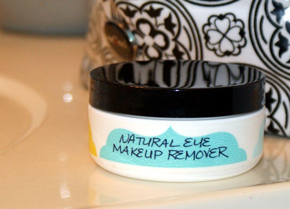 Natural Homemade Eye Makeup Remover Recipe | Natural makeup ...