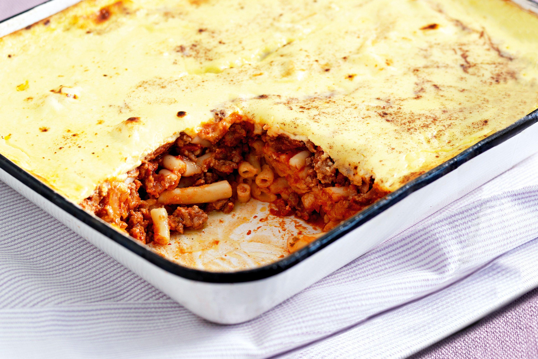 Turkey pastitsio | Turkey mince, Food recipes, Mince recipes