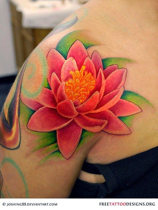 The lotus flower tattoo and its different colored meanings ext to the lotus flower tattoo and its different colored meanings mightylinksfo Choice Image