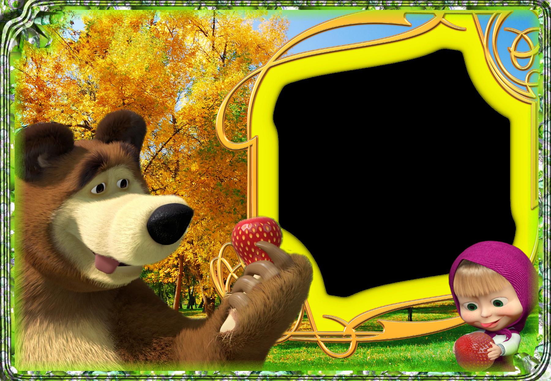Photo effect from category masha and bear ma a in medo for Immagini masha e orso da colorare