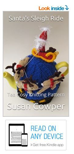 Santas Sleigh Ride Tea Cosy Knitting Pattern Kindle Edition Https