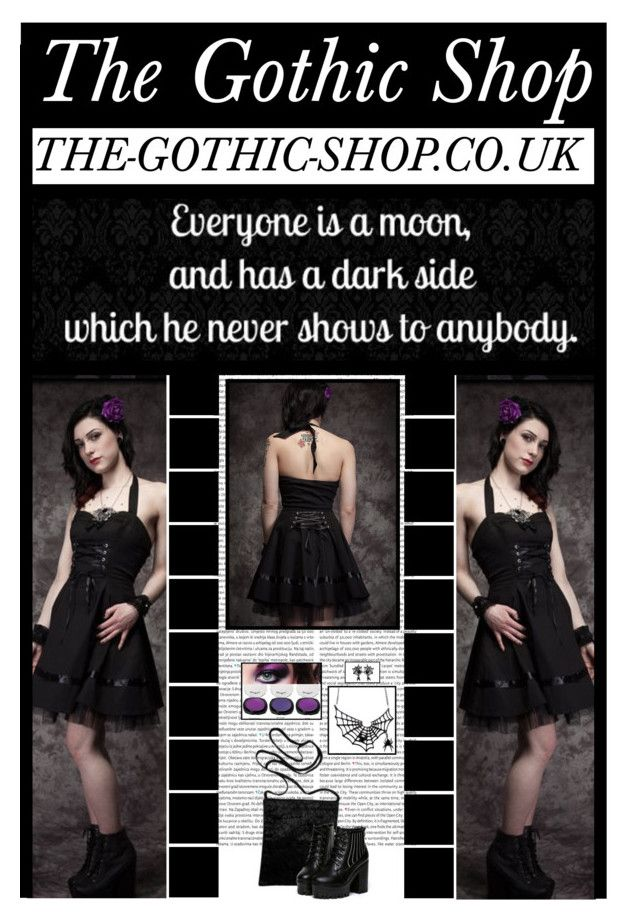 """The Gothic Shop (1)"" by irresistible-livingdeadgirl ❤ liked on Polyvore featuring moda, Oris, emo, goth, gothic, beautyset, TheGothicShop, art, corset y alternative"