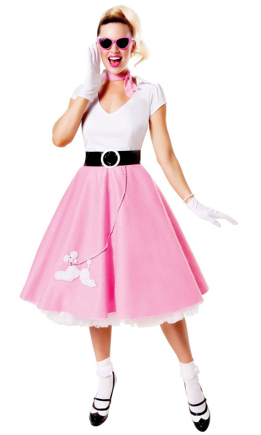 LADIES PINK NECKERCHIEF SCARF SANDY 50/'S 1950S FANCY DRESS COSTUME