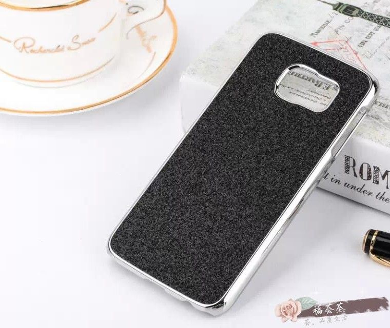Galaxy S6 Electro Plated Glitter Bling Case