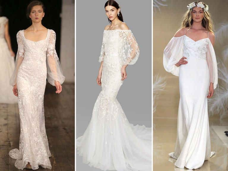 Nice Top Wedding Dress Trends From Fall Bridal Fashion Week Wedding dress trends Bridal fashion week and Wedding dress