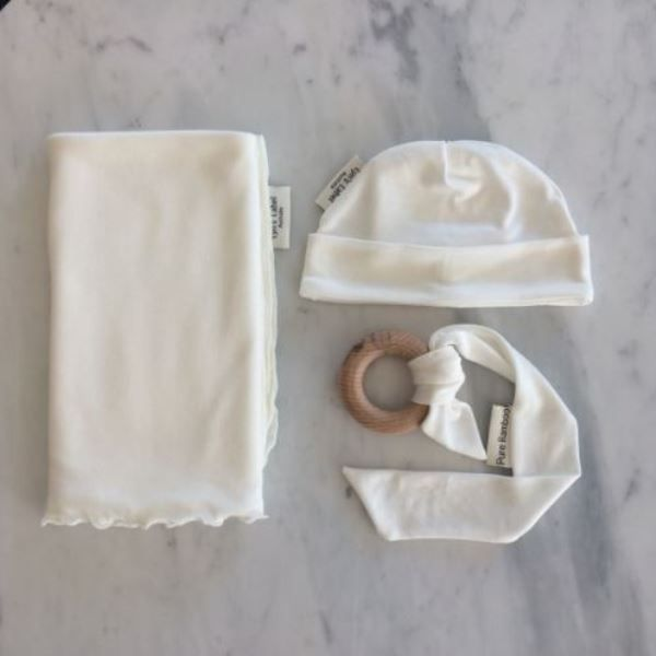 187928de7b4 Snuggle your #baby in Nature with this Pure #Organic #Bamboo Jersey  Swaddle, matching Pure Organic Bamboo Jersey #Beanie & a gorgeous all natural  Bamboo ...