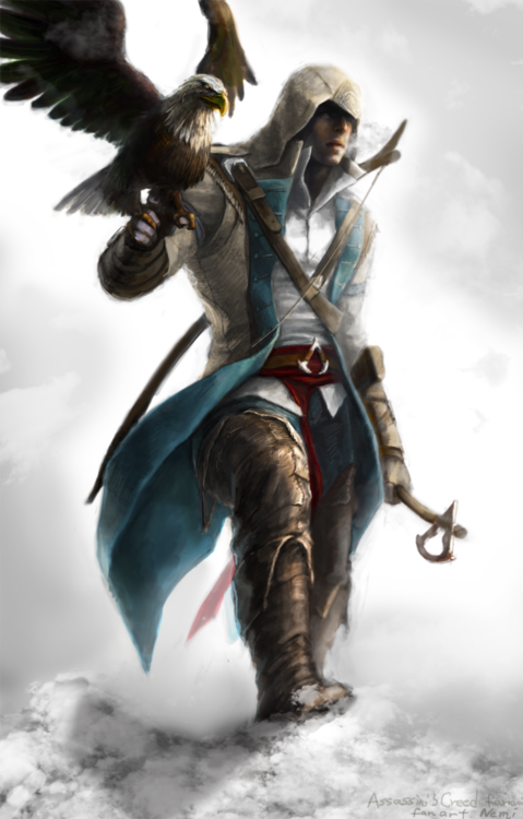 Connor Kenway Fan Art Png Assassins Creed Art Assassins Creed