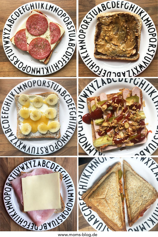 Die 5 - Sandwichmaker Rezepte meiner Kinder ⋆ Moms Blog, der praktische Familienblog!