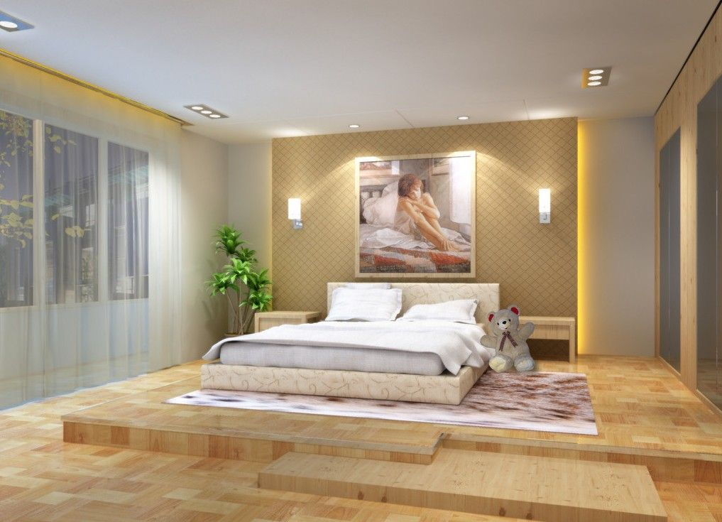 Wooden Flooring Bedroom Designs Stunning Bedroom Design Ideas With Hardwood Flooring  Bedrooms Flooring Design Ideas