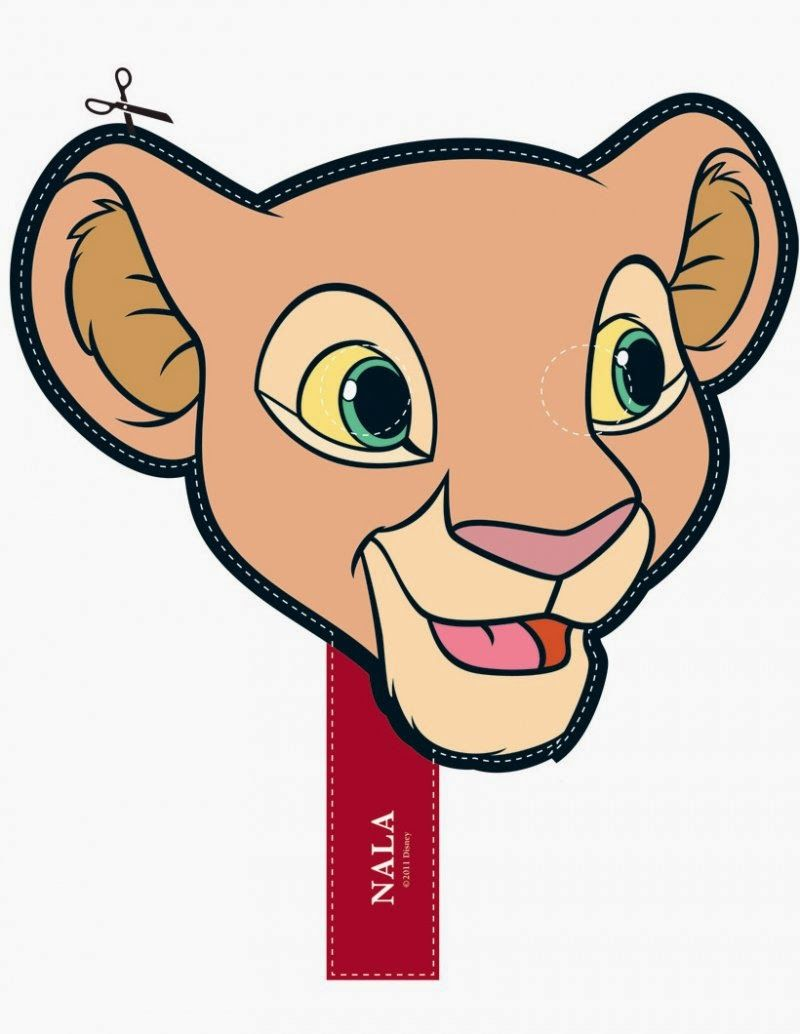 The Lion King Free Printable Masks. - Oh My Fiesta! in english | The ...