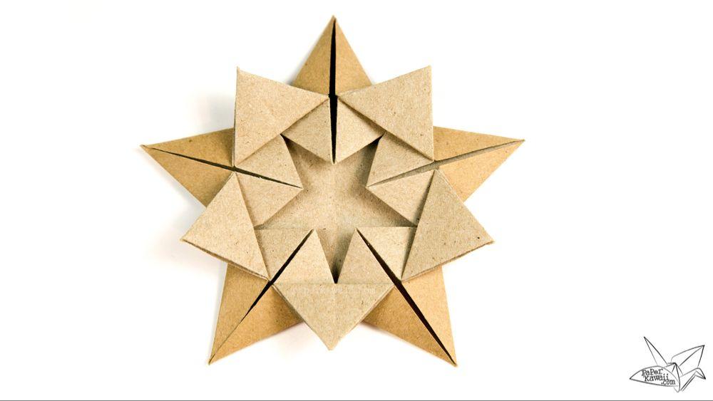 Origami Star Within Tutorial – Ali Bahmani
