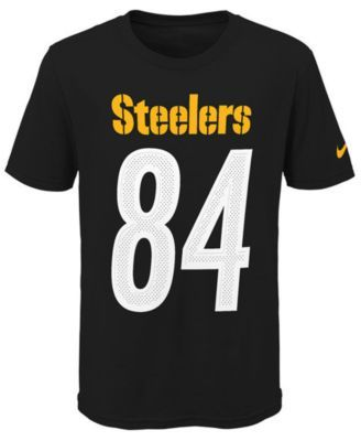 df0ea597 Nike Antonio Brown Pittsburgh Steelers Pride Name and Number 3.0 T ...