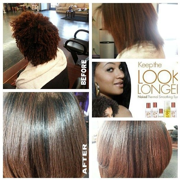 Naked Thermal Smoothing System By Essations Straighten Your Natural