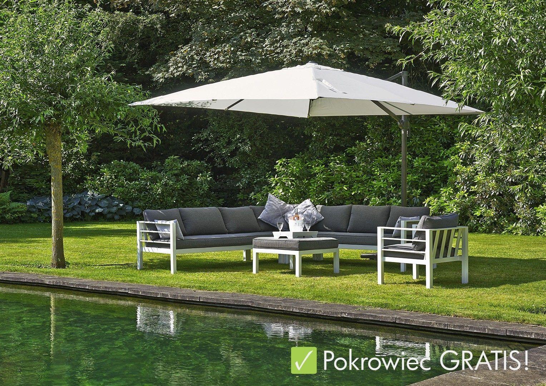 Parasol Ogrodowy Solarflex T¹ Prod Platinum Meble