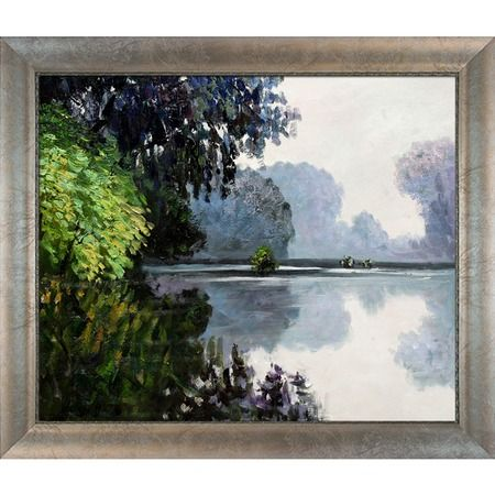 I pinned this Morning on the Seine Near Giverny by Claude Monet from the Museum Collection event at Joss and Main!