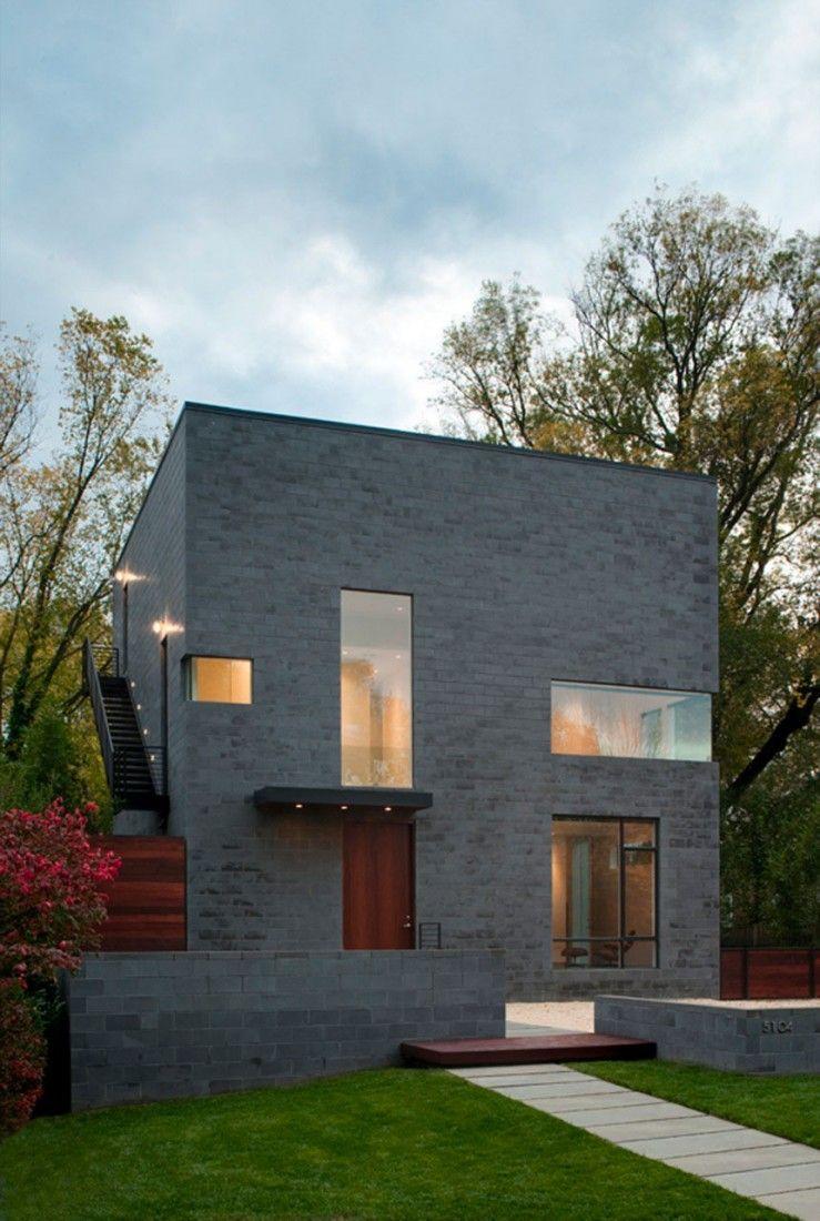Hampden Lane House By Robert Gurney Architect