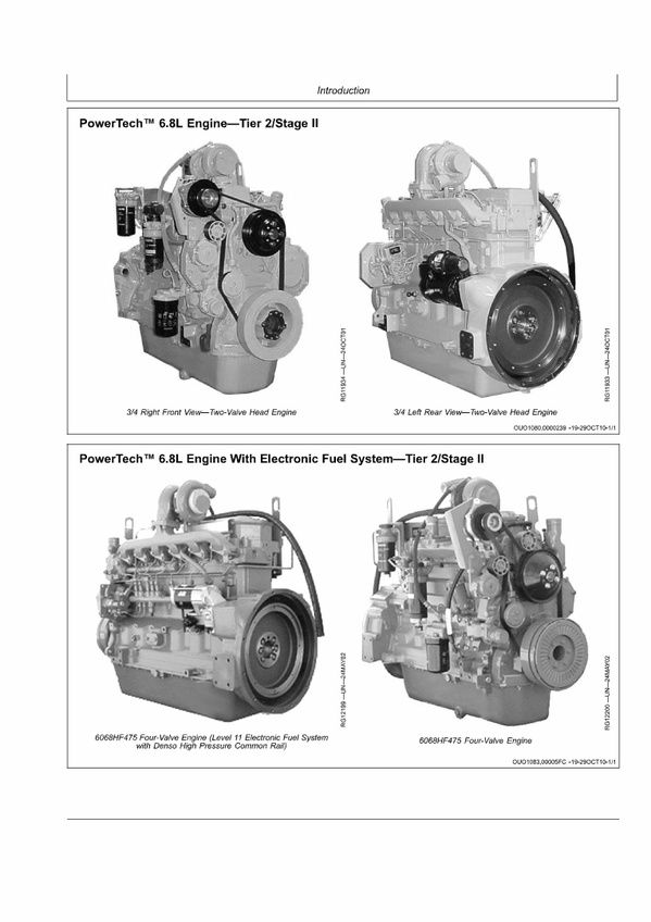 PDF DOWNLOAD John Deere 6068TFM75-6068TFM76 Marine Engines Repair
