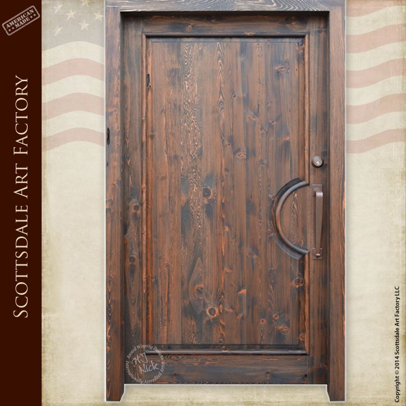 Exterior doors custom handmade in America by master craftsmen at ...