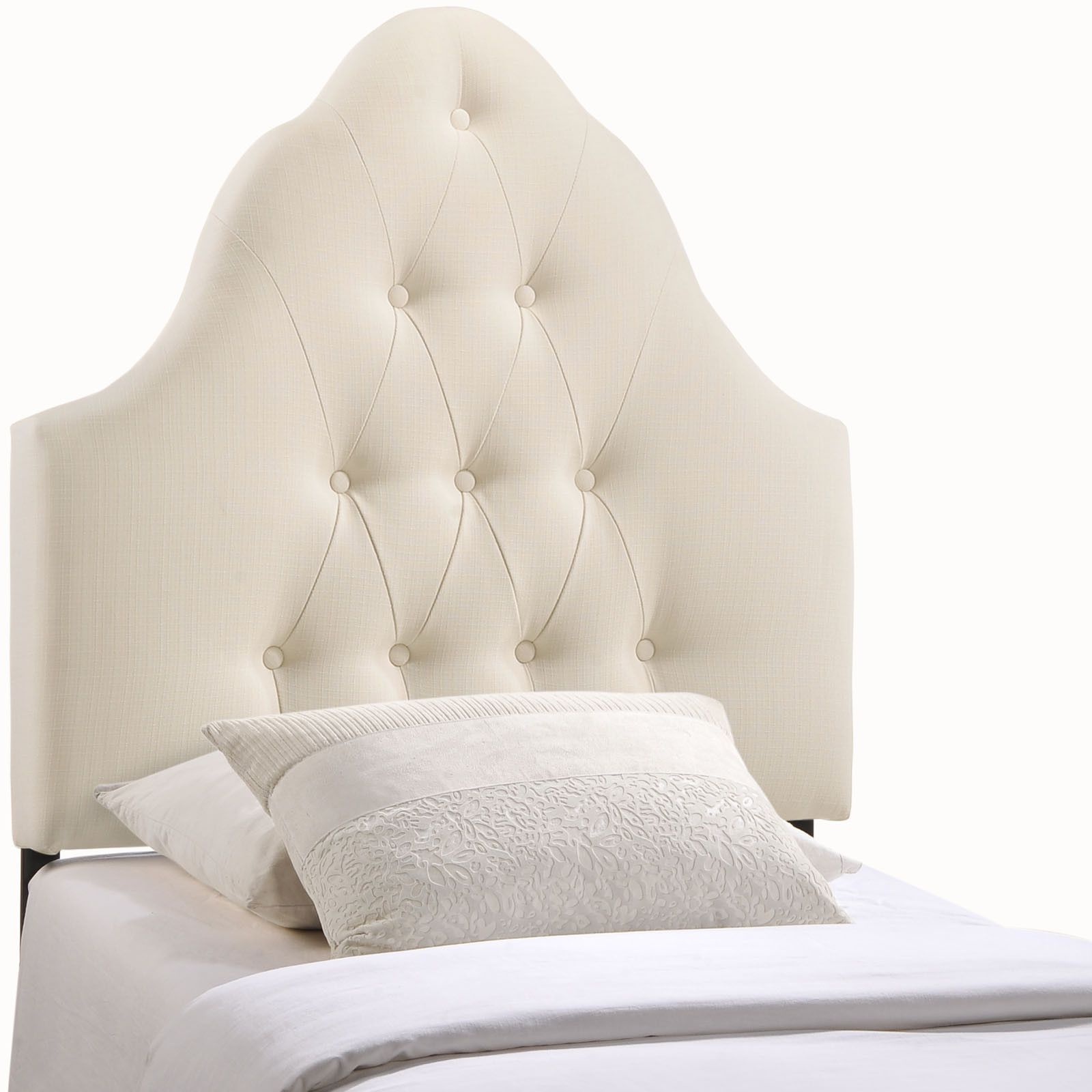 sovereign twin fabric headboard in ivory twins ivory and warehouse