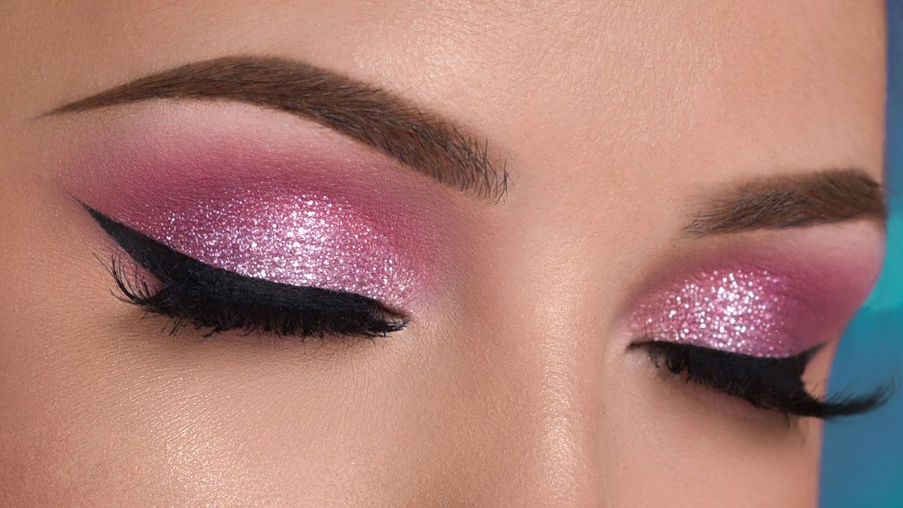Lovely Pinky-Purple Makeup Tutorial for Valentine's Day advise