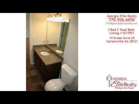 Home For Sale - 14 Green Acre LN, Cartersville, GA (+playlist) #GeorgiaRealEstate