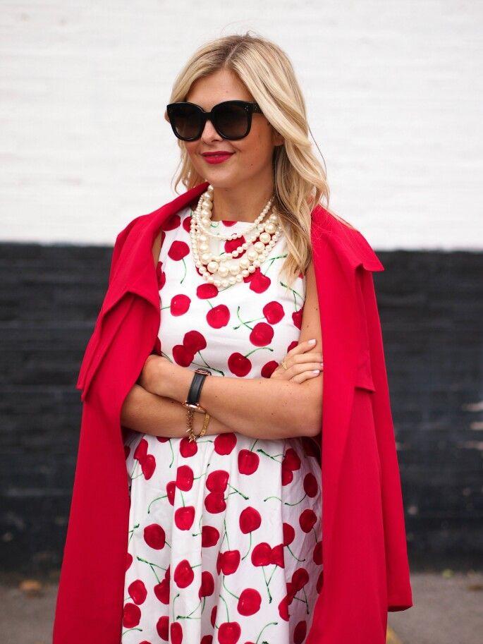 Cherries dress