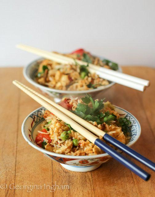 Yangzhou fried rice aka yeung chow fried rice ccuart Images