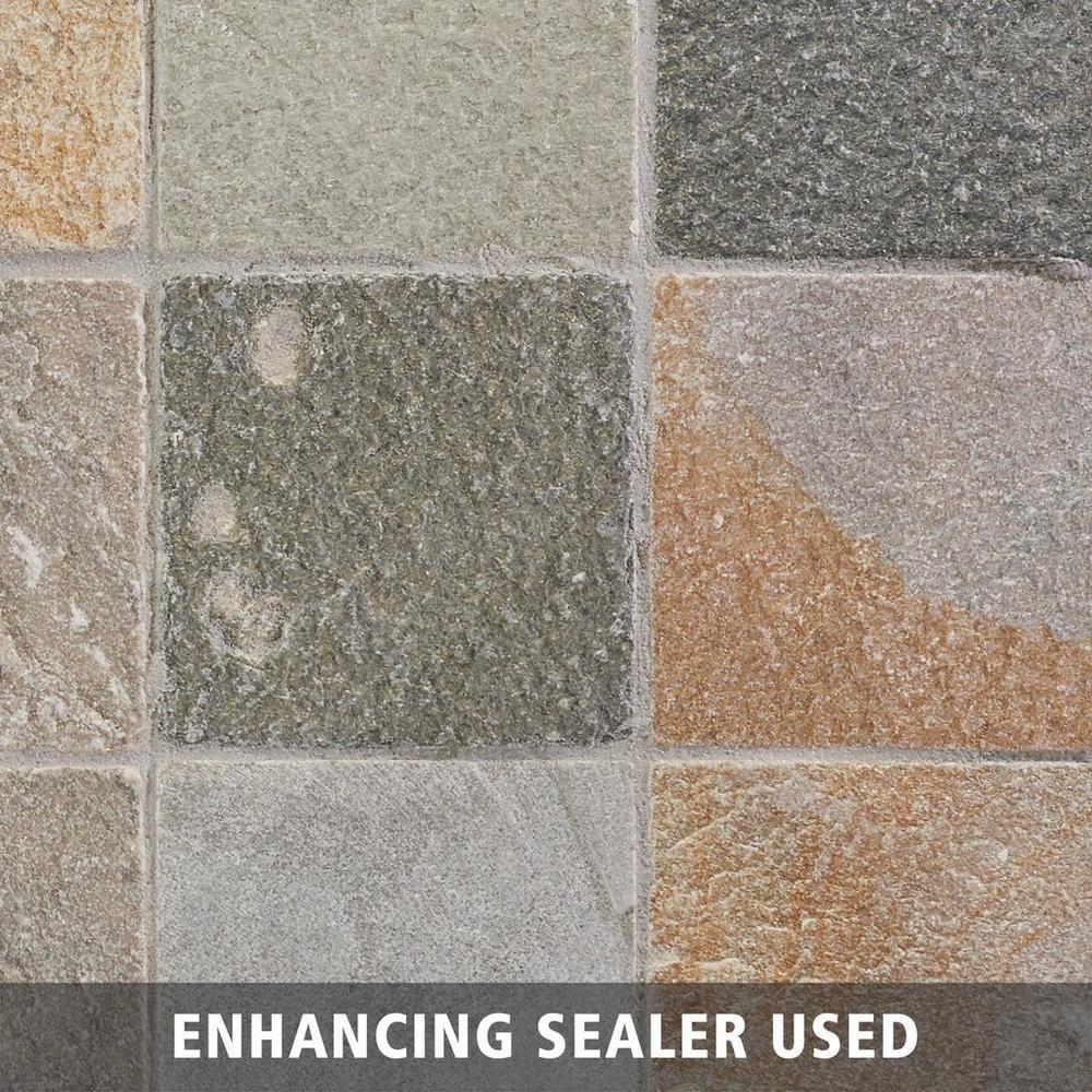 Decorative Slate Tiles Andes Natural Decorative Slate Tile  6Inx 6In 100048008