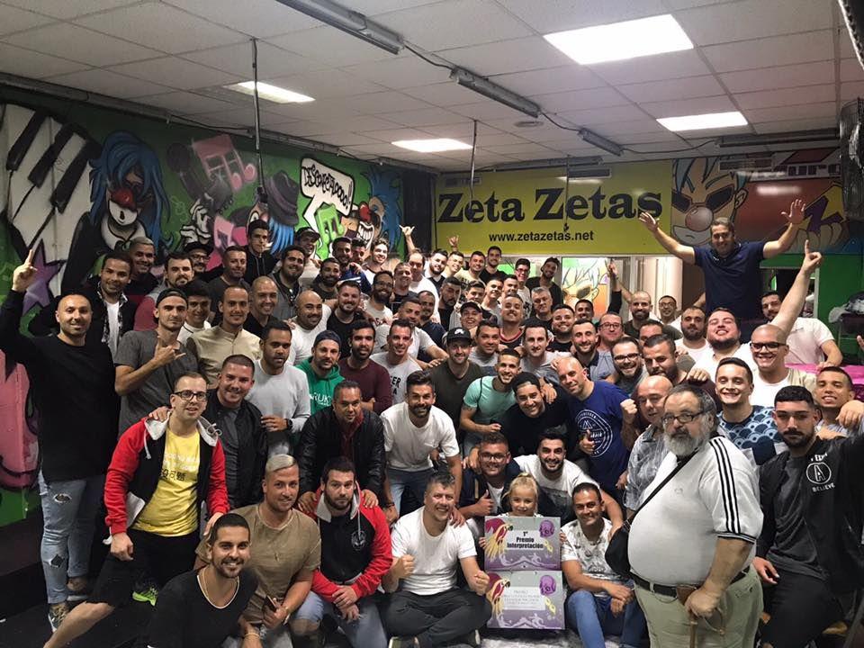 Grupo Mascarada Carnaval: Un centenar de Zeta-Zetas para 2018 .