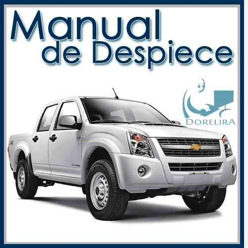 Manual De Despiece Completo Chevrolet Luv Dmax 2006 2009 Autos Peliculas