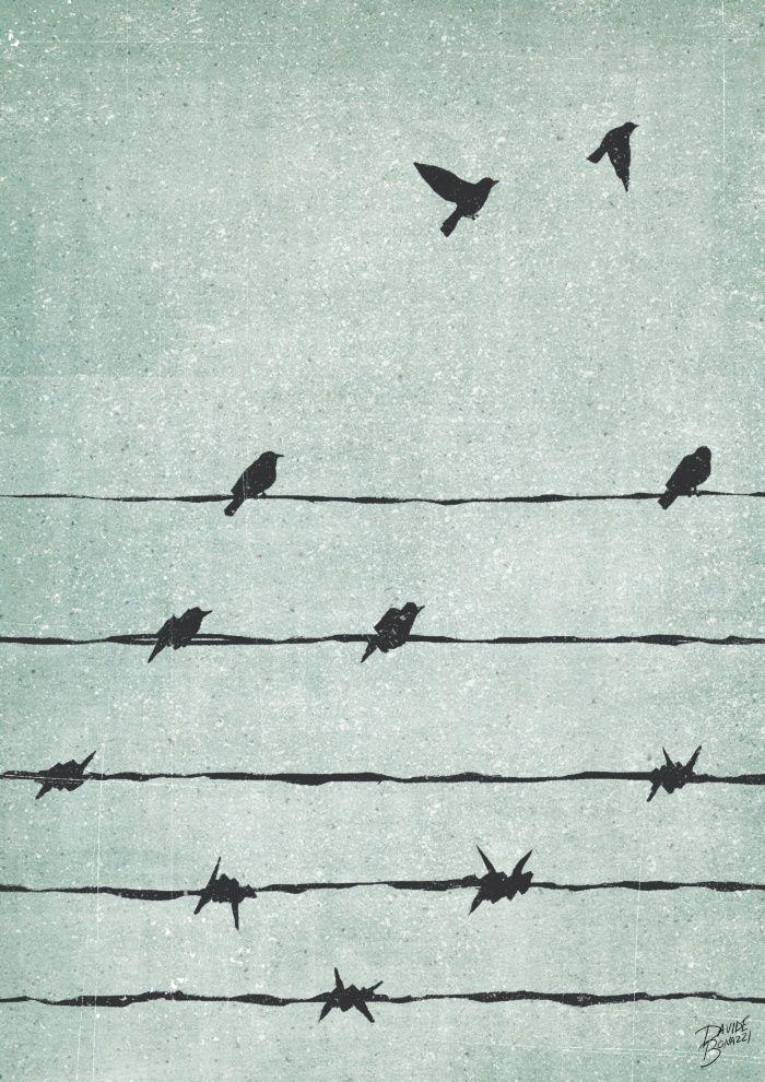 Freedom Art Print By Davide Bonazzi Society6 Ilustracao Conceitual Arte Conceitual Illustration