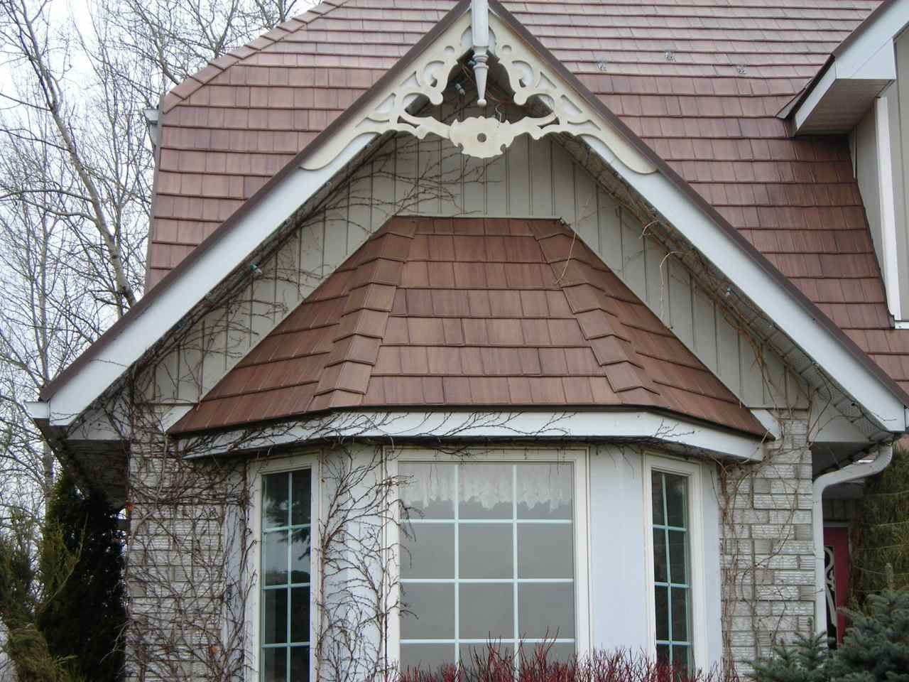 This metal roof is just one of Kassel and Irons