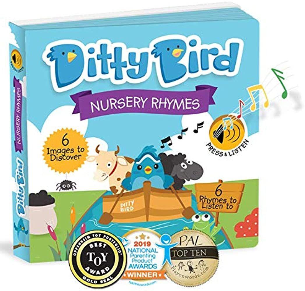 Amazon.com: DITTY BIRD Baby Sound Books: Nursery Rhymes ...