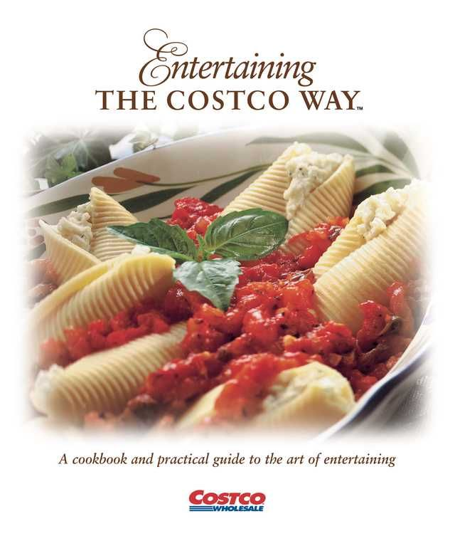 Entertaining The Costco Way - Front Cover | Yummy in 2019