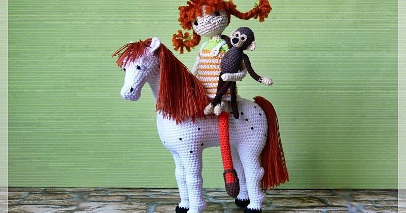 Checking Out Pippi Longstocking From >> Pippi Longstocking Mr Nilsson And Alfonso The Horse Use Google