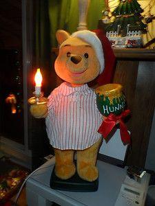 POOH ~ Telco Animated 22'' Disney Winnie The Pooh w Honey Figure ...