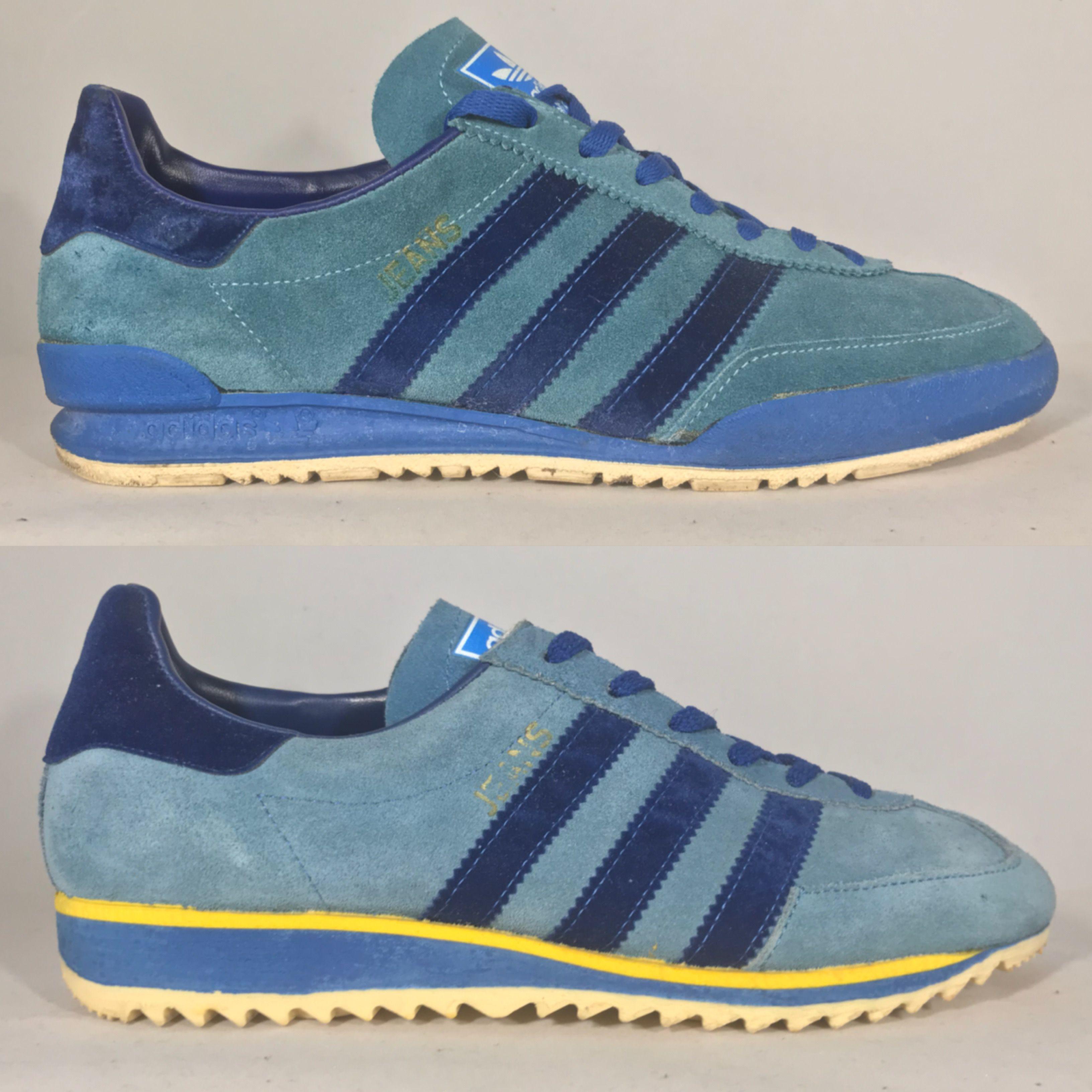 Austrian made Adidas Jeans MKI (top) & MKII | Vintage