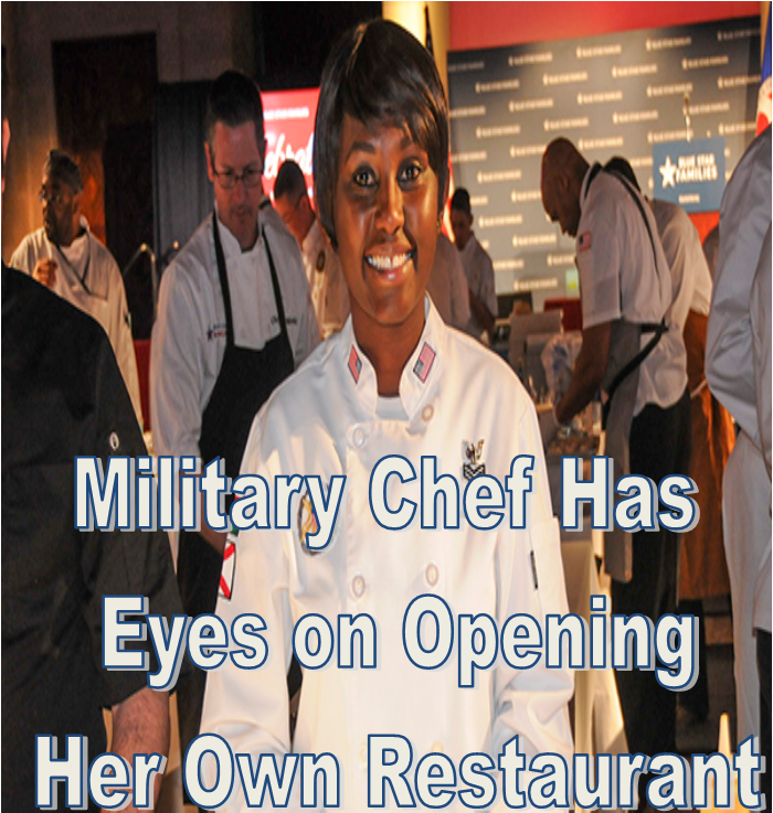Navy Petty Officer 2nd Class Frida Karani, this year's Military Chef