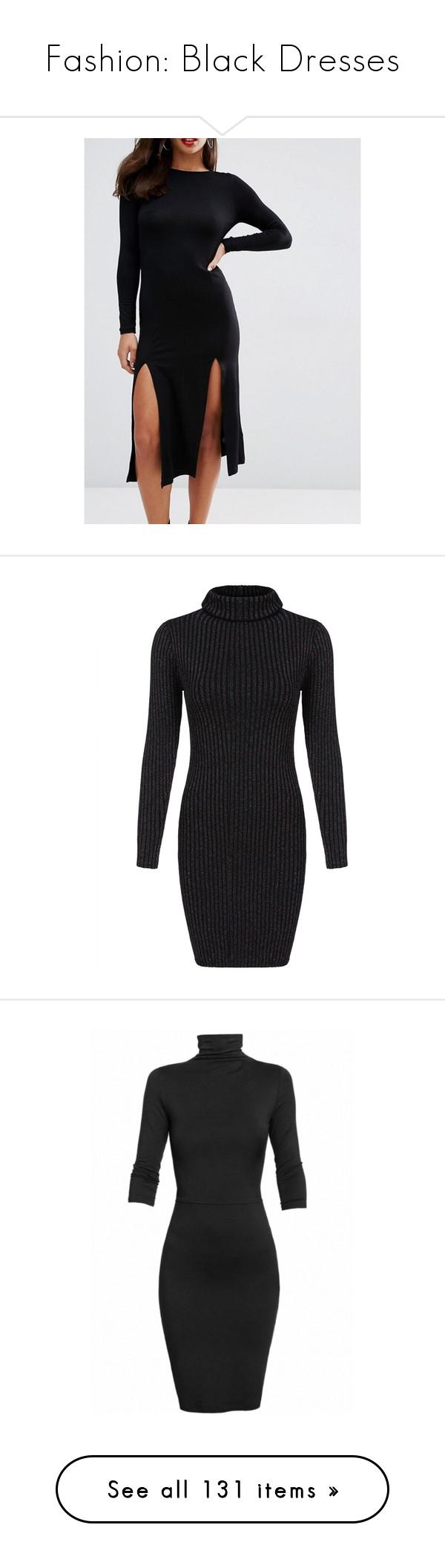 Fashion black dresses