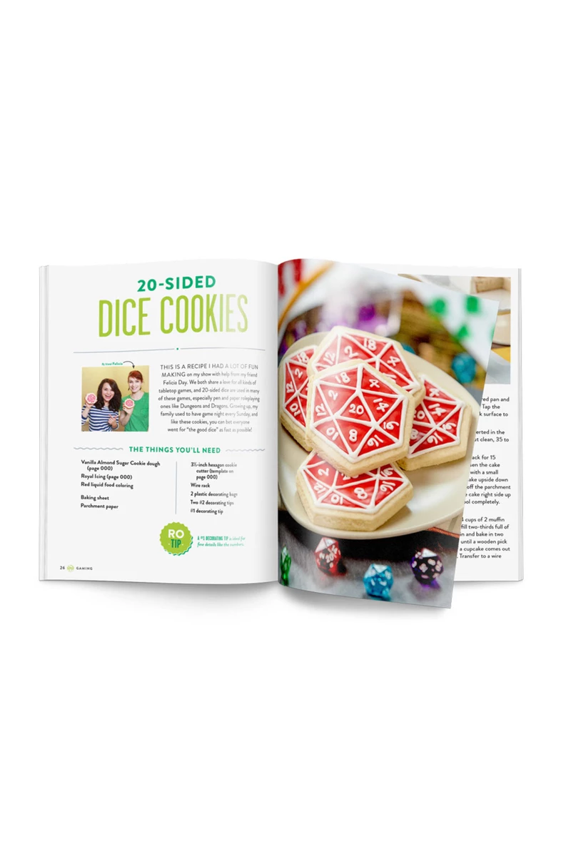THE NERDY NUMMIES COOKBOOK by Rosanna Pansino (Signed Copy)