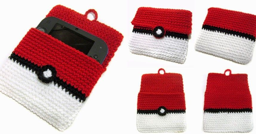 """This is a 2DS Pokeball Cover! It is 5.5"""" tall and 6.5"""" wide, the ..."""