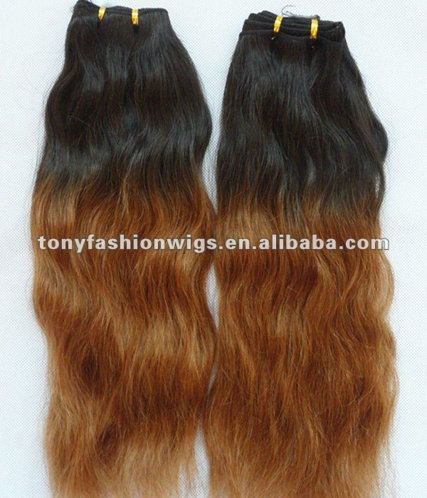 26 Inch 1b T 30 Two Tone Color Malaysian Virgin Hair Weave