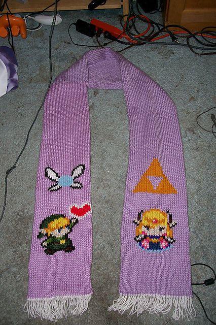 scarf... NEED TO MAKE! | The Legend of Zelda | Pinterest | Invierno ...