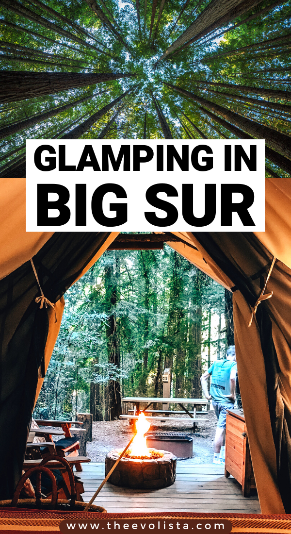 The ultimate luxury camping in the Big Sur redwoods | Big Sur Glamping | Glamping California | Best Things to do in Big Sur | Tips and tricks for a Big Sur trip | How to plan a trip to Big Sur California | Big Sur Travel Guide | Big Sur weekend trip | Big Sur itinerary | Big Sur road trip | Pacific Coast Highway Road trip to Big Sur | USA bucket list road trip | Carmel By the Sea | Pebble Beach | Bixby Creek Bridge | Monterey | Hidden Gems in Big Sur #bigsur #california #traveltips #glamping