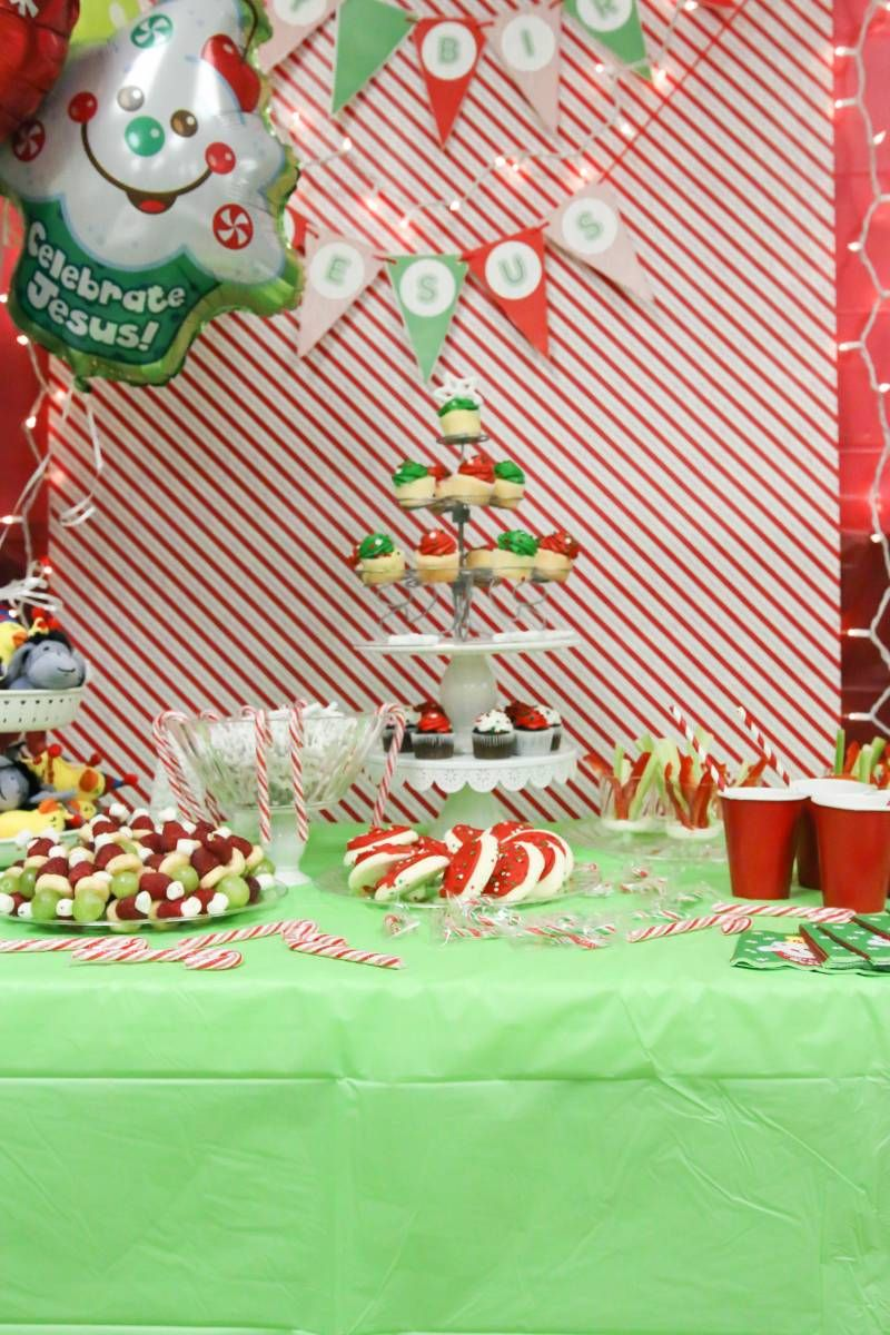 A Birthday Party For Jesus Christmas Pinterest