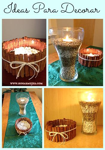 Adornos para la casa hogar lindo y util pinterest for Decoraciones sencillas para el hogar